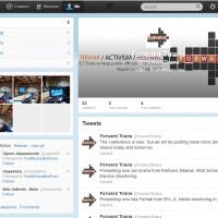 ForwardTirana - faqja ne Twitter
