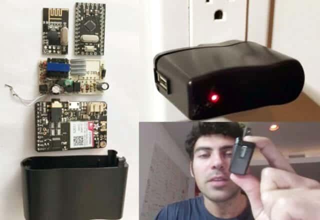 Pajisja që mund të spiunojë çdo veprim të tastierës së kompjuterit