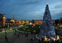 Qendra e Tiranes per festat e fundvitit