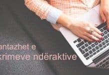 Avantazhet e shkrimeve nderaktive