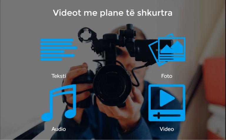 Si t'i përdorni videot me plane të shkurtra si tek EriTV?