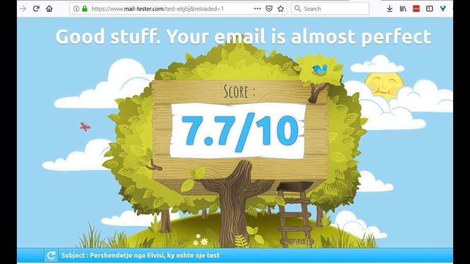 Ja pse mesazhet tuaja me email përfundojnë në SPAM?